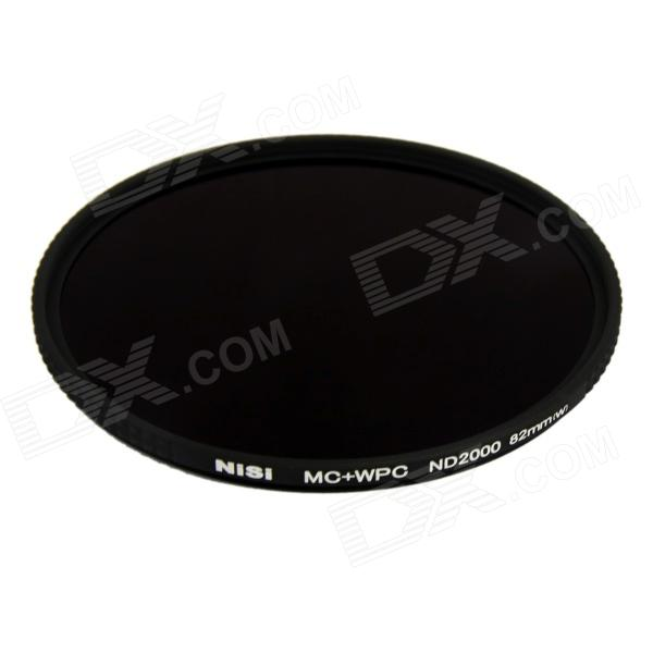 NISI 82mm ND2000 Ultra Thin Neutral Density Filter - Black poems pубашка
