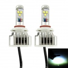 IN-Color CREE H11 / H8 30W 6000K 3000LM LED Cold White Light Car hodelykt / Tåkelykt (2stk / 8 ~ 48V)
