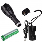SingFire SF-360 900lm 5-Mode White Zooming LED Flashlight w/ CREE XM-L T6 - Black (1 x 18650)