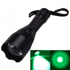 SingFire SF-360G LED 250lm 3-Mode Green Zooming Hunting Flashlight - Black (1 x 18650)