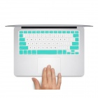 "GeekRover Keyboard Skin Cover Protector for MacBook Pro 13"" / 15"" / 17"" - White + Green"