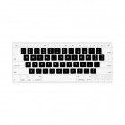 "GeekRover Keyboard Skin Cover Protector for MacBook Pro 13"" / 15"" / 17"" - White + Black"