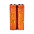 TrustFire High-rate Discharge 3.7V 550mAh 5C Lithium-ion 13450 Batteries - Red + Orange(2 PCS)