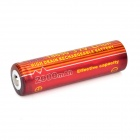 TrustFire High-rate Discharge 3.7V 2000mAh 7C Lithium-ion 18650 Batteries - Red + Orange (2 PCS)