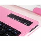 "7""-8"" Artificial Leather Flip Case w/ Bluetooth Keyboard for IPAD MINI, Android Tablet PCs - Pink"