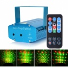 HML Twelve Patterns 50mW Green + 100mW Red Laser Stage Lighting Projector w/18-key RC / Tripod