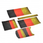 German Flag Patterned Protective Sticker Set for Xbox One Console +  - Multi-colored