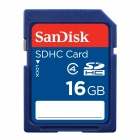 SanDisk SDSDB-016G 16GB SDHC SD Memory Card Class 4