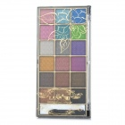 LM-588 Cosmetic Makeup 18-Color Eye Shadow Palette - Multicolored
