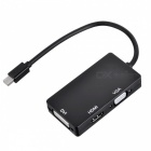 Mini DisplayPort to HDMI / VGA / DVI Convertor - Black
