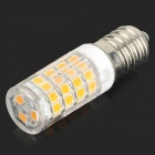 HH37 E14 3.5W 320lm 3200K 51-SMD 2835 LED Warm White Light Bulb - White + Yellow (AC 220~240V)