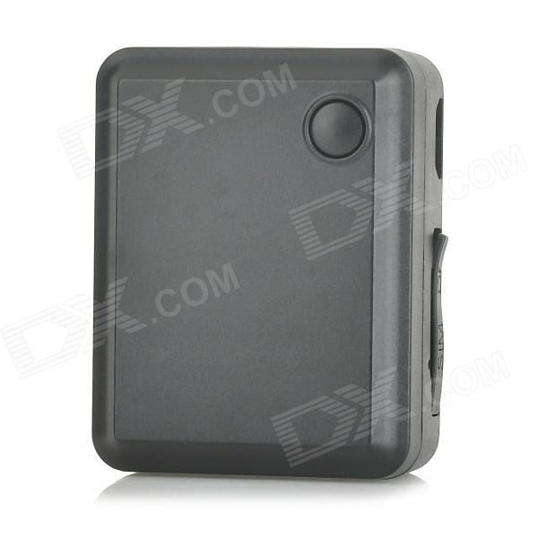 Portable GSM / GPS Mini Positioning Tracker / Alarm - Black