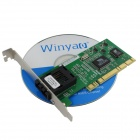 Winyao WY6105FX 100Base-FX Fiber PCI Network Card - Green
