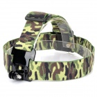GP23C Camera Fixed Headband Holder for GoPro Hero 3+ / 3 / 2 / 1 - AT Camouflage