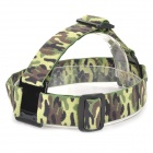 GP23C Camera Fixed Headband Holder for Gopro Hero 4/ 3+ / 3 / 2 / 1 - AT Camouflage