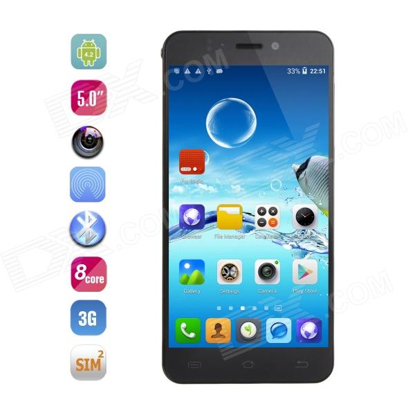 JIAYU S2 MTK6592 Octa-Core Android 4.2 WCDMA Phone w/ 5 IPS, 2GB RAM, 32GB ROM, 13MP, GPS - Black iocean x8 mtk6592 octa core android 4 2 wcdma phone w 5 7 ips 2gb ram 16gb rom 14mp gps black