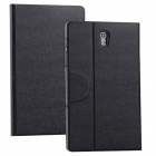 Protective PU Leather Case Stand Cover for Samsung Galaxy Tab S 8.4 T700 - Black
