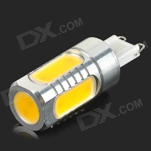 G9 6W 350lm 5-COB LED Warm White Light Lamp (DC 12V)
