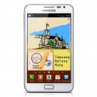 "Refurbished Samsung N7000 Android 2.3 Dual-core WCDMA Phone w/5.3"", Wi-Fi, RAM 1GB, ROM 16GB - White"