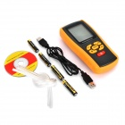 "BENETECH GM510 2.6"" LCD Handheld Pressure Manometer - Orange + Black (4 x AAA)"