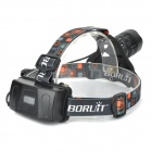B2 400lm 5-Mode White Headlamp w/ Cree XM-L T6 - Black (1 / 2 x 18650)