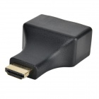 CYF-3001 HDMI RJ45 CAT-5e / 6 HD 3D signaali adapterit - musta (2PCS)
