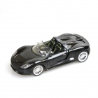 Porsche 918 Genuine 1:24 4-Channel Remote Control R/C Car w/ LED Light - Black
