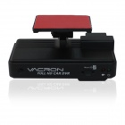 VACRON CBE-15  Full HD 1080P 5.0MP CMOS 105 Wide Angle Car DVR w/ G-sensor, IR Night Vision - Black