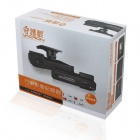 VACRON CBE-25 720P 1.0MP CMOS 120 'Wide Angle Car DVR w / GPS, G-sensor, Night Vision IR - Black