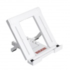 Ultra Slim Universal Desktop Adjustable Stand Holder for Tablet / IPAD E-Book - White