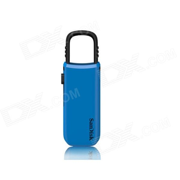 Sandisk CZ59 USB 2.0 Flash Drive - Blue + Black (64GB)