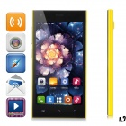 "HTM M3 MTK6572 Dual-Core Android 4.2 WCDMA Bar Phone w/ 5.0"" Capacitive, Wi-Fi and GPS - Yellow"
