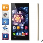 "HTM M3 MTK6572 Dual-Core Android 4.2 WCDMA Phone w/ 5.0"" Capacitive, Wi-Fi and GPS - Golden"