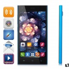 "HTM M3 MTK6572 Dual-Core Android 4.2 WCDMA Bar Phone w/ 5.0"" Capacitive, Wi-Fi and GPS - Blue"