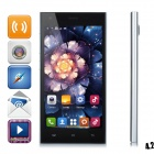 "HTM M3 MTK6572 Dual-Core Android 4.2 WCDMA Bar Phone w/ 5.0"" Capacitive, Wi-Fi and GPS - Silver"