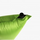 Outdoor Camping Auto Air Inflatable Cushion Pillow - Green