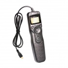 "1.2"" LCD Digital Timer Remote Switch Trigger para Sony A7 A6000 - Preto (2 x AAA)"