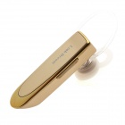 Link Dream LC-B41 Bluetooth V4.0 Earhook Handsfree Stereo Headset w/ Microphone - Golden
