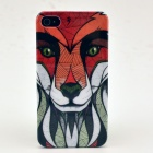 Lion Pattern Plastic Hard Back Case for IPHONE 4 / 4S - Multi-Colored