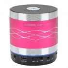 CHEERLINK SDH-800 Hi-Fi Mini Bluetooth V2.1 + EDR Speaker w/ TF / FM / AUX / Hands-free - Deep Pink