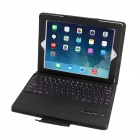 Removable Magnet Bluetooth 3.0 83-Key Keyboard w/ PU Leather Case for IPAD 2 / 3 / 4 - Black