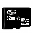 Team TUSDH32GCL1003 Micro SDHC / TF Memory Card (32GB / Class 10)