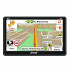 "eDaoZhun HD 7"" Car GPS Navigation w/ FM / DDR256M / 8GB / CE 6.0  Europe Map - Black"