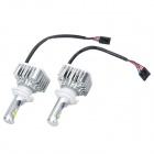 IN-Color H7 30W 6000K 3000LM LED White Light Car Headlamp / Foglight w/ CREE (2PCS / 8~48V)