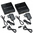 CHEERLINK Full HD 1080P HDMI 1.3 til SDI Extender-Set - svart