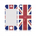 Angibabe UK Flag Pattern Front and Back Tempered Glass Screen Protector for IPHONE 4 / 4S