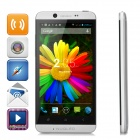 "NUQLEO Quadrant Quad-core Android 4.2.2 WCDMA Bar Phone w/ 4.7"" Screen, Wi-Fi and GPS - Silver"