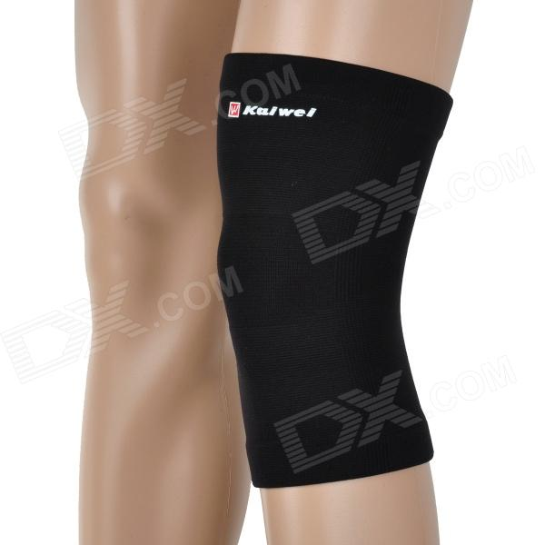 CAMEWIN 0889 Sports Nylon + Latex Knee Support Guard Protector Sleeve - Black (L)