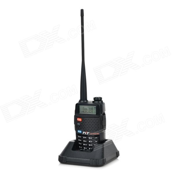 TYT TH-UVF8D 1.5 LCD Dual-Band A/B Display 128-CH Walkie Talkie - Black