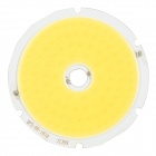 JRLED 50W 4000lm 6500K 100-COB LED White Round Light Module - Yellow + Silver (30~32V)